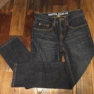 Boys size 8 skinny jeans, Nautica, never worn